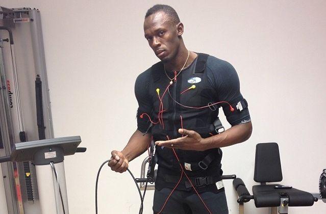 Usain Bolt é adepto da tecnologia utilizada pelo Xbody (Foto: Reprodução)