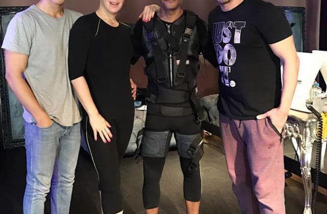 Alguns Artistas viraram fãs do Xbody (Foto: Reprodução)